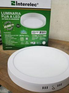 Luminaria de aplicar circular 24W