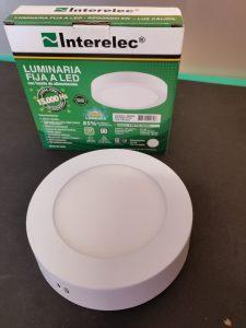 Luminaria de aplicar circular 6W